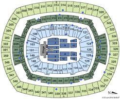 Metlife Stadium Tickets And Metlife Stadium Seating Chart