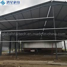 china galvanized fabricated light steel
