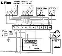 w plan wiring b gif (1024×952) wireing pinterest diagram Boiler Control Wiring s plan twin zone central heating wiring diagram
