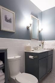 bathroom tiled walls. Contemporary Full Bathroom - Half Wall With Tile Tiled Walls T