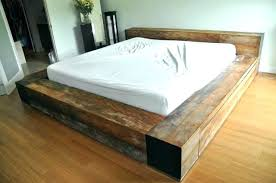 king size pallet bed how to make pallet bed king size pallet bed low profile king size