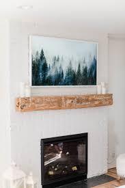 samsung frame tv look like art