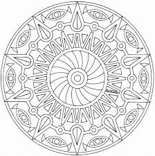 Small Picture Free Coloring Pages Mandala High Resolution Coloring Free Coloring