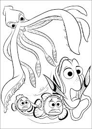 Nemo Colouring Beautiful Finding Coloring Page To Print And Color