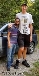 "7'- 8"" Bob Wegner   Tall guys, Tall people, Giant people"