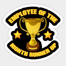 Employee Of The Month Trophy Employee Of The Month Runner Up Funny Trophy T Shirt