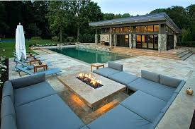 gas fire pit table pool natural gas fire pit table stonefire round crystal gas fire pit