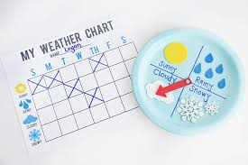 Weather Chart Free Printable Diy Weather Chart And Graph Fun365
