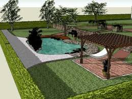 Small Picture A sketch up garden 2 the eco friendly pool YouTube