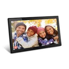 17 3 inch wifi digital photo frame with touchscreen ips lcd display and 8gb built in