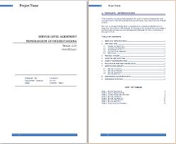 help desk service level agreement template ms word service level agreement template free agreement templates