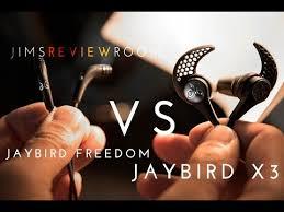 Jaybird X3 Vs Jaybird Freedom Comparison