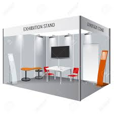 Photo Booth Design Illustrated Unique Creative Exhibition Stand Display Design