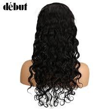 <b>Debut</b> 24 Inch Body Wave <b>Human</b> Hair <b>Lace Front</b> Wigs Brazilian ...