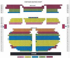 Pantages Seating Chart Tacoma Opera Association