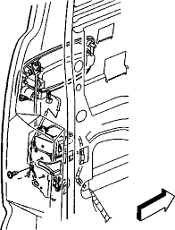2000 ford truck windstar 3 8l fi ohv 6cyl repair guides exploded view of the front door lock actuator 2005 06 models