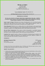10 Resume Qualifications Summary Examples Cover Letter