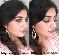 indian bridal makeup tutorial 4 gold berry and purple