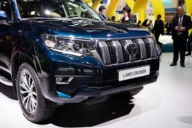 2018 toyota land cruiser prado. brilliant toyota new headlamp design radiator grille optional led units are also seen on  the 2018 toyota land cruiser prado with main beams placed further inboard for  intended toyota land cruiser prado r
