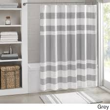 Madison Park Spa Waffle Shower Curtain with 3M Treatment - Free Shipping On  Orders Over $45 - Overstock.com - 17191023