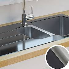 Kitchen Sinks  Metal U0026 Ceramic Kitchen Sinks  DIY At Bu0026QBq Kitchen Sinks And Taps
