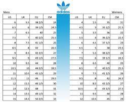 Adidas Size Chart Kids Shoes 24 Accurate Asics Kids Shoe Size Chart