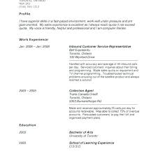 Sample Of Good Resume Job Experience Resume Examples Sample Resume