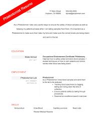 Free Phlebotomist Resume Templates 100 free phlebotomy resume templates you must see sample resume 48