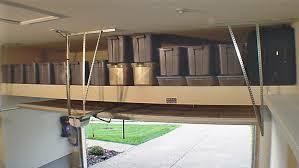 image of garage storage racks for ceiling