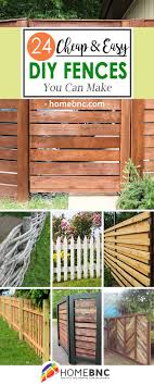 Simple and cheap privacy fence design ideas Garden Fence Diy Fence Decor Ideas Homebnc 24 Best Diy Fence Decor Ideas And Designs For 2019