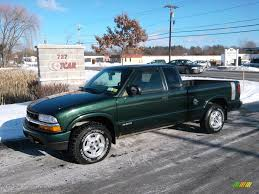 2002 Forest Green Metallic Chevrolet S10 LS Extended Cab 4x4 ...