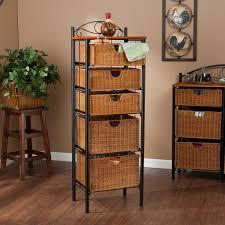 ... Storage:White Wicker Drawers Pretty Storage Baskets Large White Storage  Box Wicker Box Wicker Basket