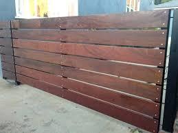 Horizontal Wood Fence Horizontal Wood Fencing Horizontal Wood Fence