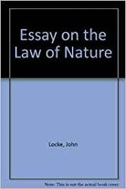 on the law of nature essays on the law of nature