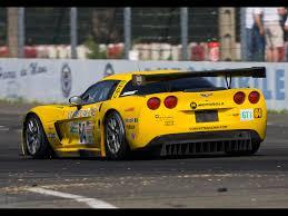 2006 Chevrolet Corvette C6.R at Le Mans 24 Hours - Rear Angle ...