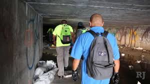 Living Under Vegas In Tunnels Under Las Vegas Monsoon Rains Can Pose Deadly Threat