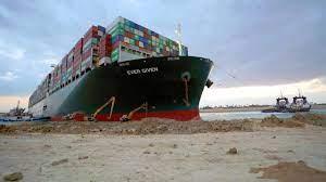 Na maanden vertraging nóg een dag erbij voor blokkeerschip Ever Given   NU  - Het laatste nieuws het eerst op NU.nl