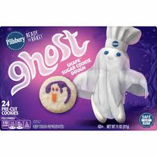 Using fork or pastry blender, cut in 1 cup margarine until mixture is crumbly. Food 4 Less Pillsbury Ready To Bake Ghost Sugar Cookie Dough 24 Ct 11 Oz