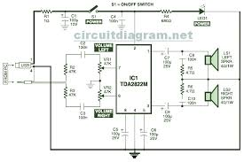 usb powered stereo computer speaker schematic design