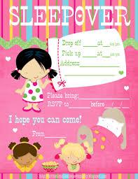 sleepover template sleepover party invitation templates cloudinvitation com