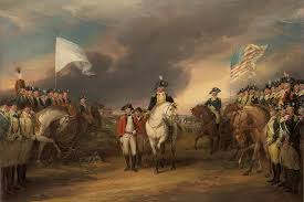 john trumbull the surrender of lord cornwallis at yorktown open edition canvas published