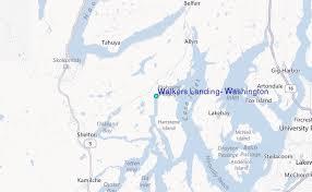 Walkers Landing Washington Tide Station Location Guide