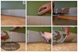 how to remove a builder basic backsplash