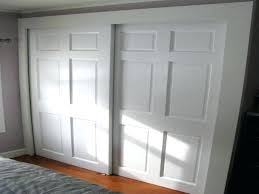 installing bypass closet doors large size of to install bypass sliding closet doors in conjunction with