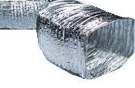 flexible hvac ductwork. Simple Flexible Noninsulated Aluminium Rectangular Flexible Air Ducts Inside Flexible Hvac Ductwork X