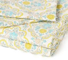 Yellow Patterned Sheets