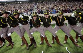 Texas A M Corps Of Cadets A M Cadet Praised For Block To Protect Mascot