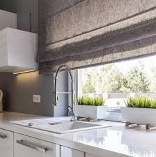 roman blinds kitchen. Fine Kitchen Roman Blinds Are Not Normally Available In Specialist Moisture Resistant Or  Wipeabe Fabric Finishes But Can With Careful Selection And Proper  Inside Blinds Kitchen