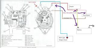 wiring diagram for denso alternator the wiring diagram help me hook up this alternator so i don t fry my ride wiring
