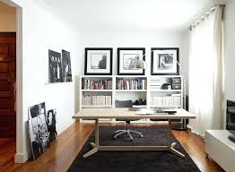 contemporary home office desk. desk lovely brings warmth of wood to the contemporary home office in black and a